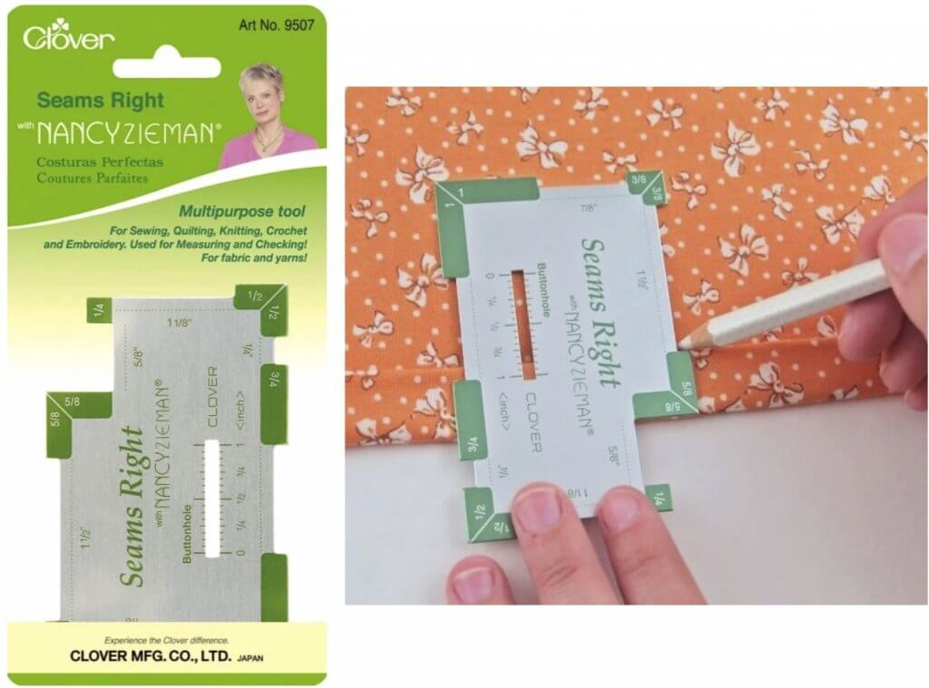 Clover's Seams Right Available at Nancy Zieman Productions at ShopNZP.com
