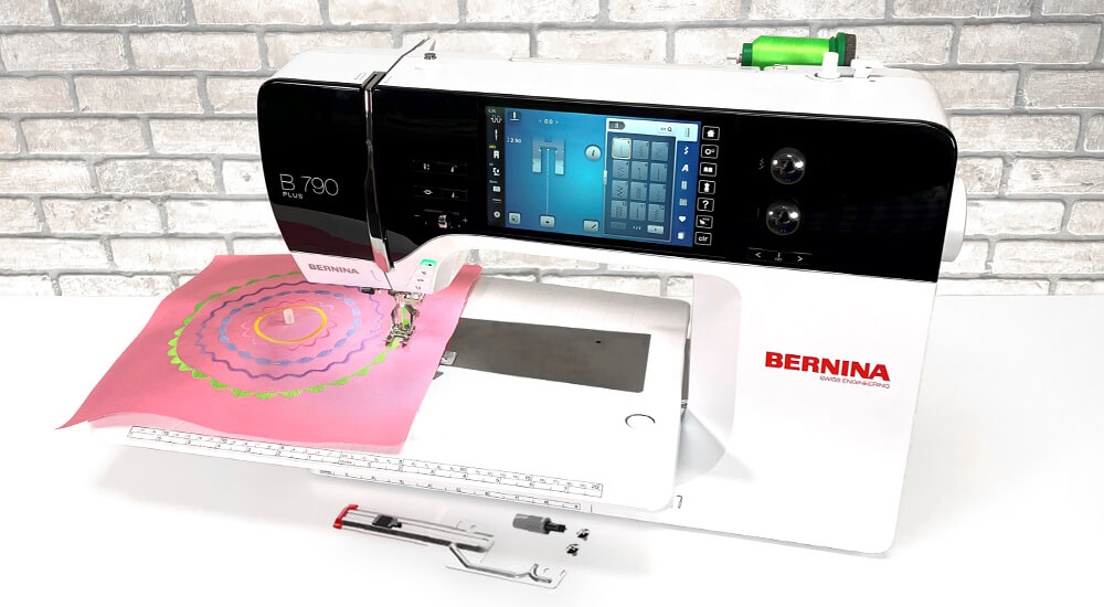 Bernina Circular Sewing Attachment available exclusively at your local Bernina Dealer