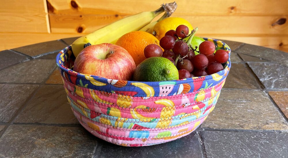 New! Rainbowfruit Fabric Collection Available at Nancy Zieman Productions at ShopNZP.com Fruit Bowl