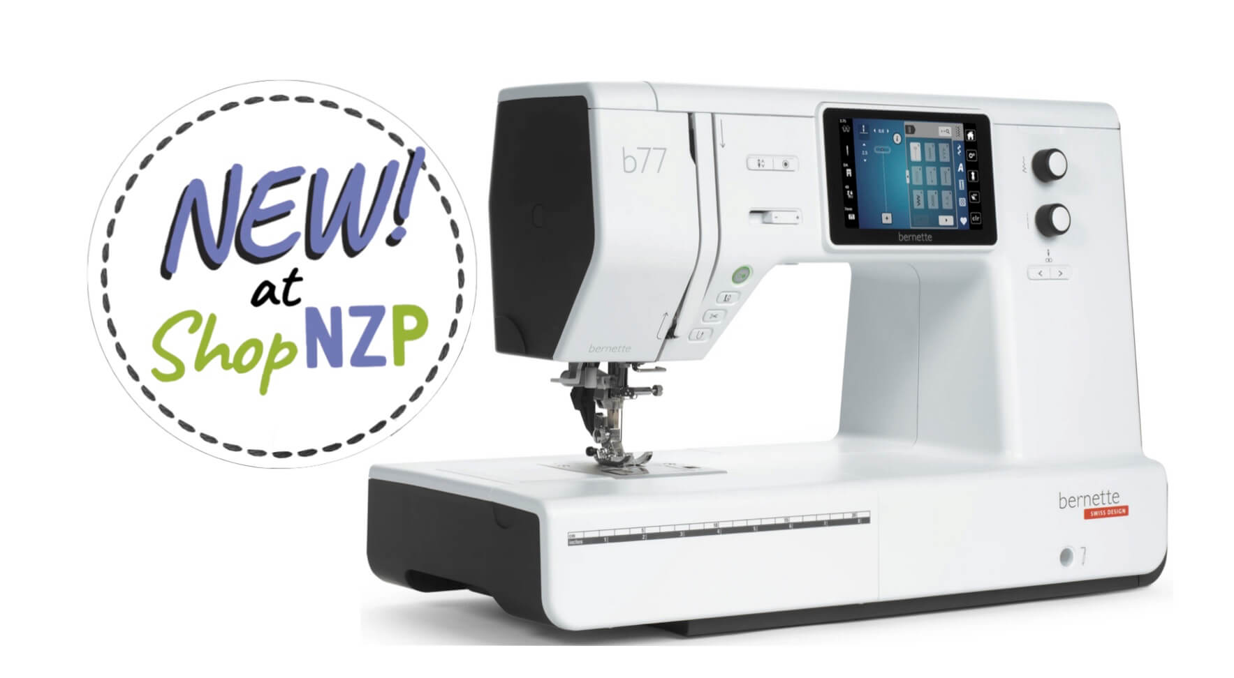 New! bernette b77 Sewing Machinne Available at Nancy Zieman Productions at ShopNZP.com