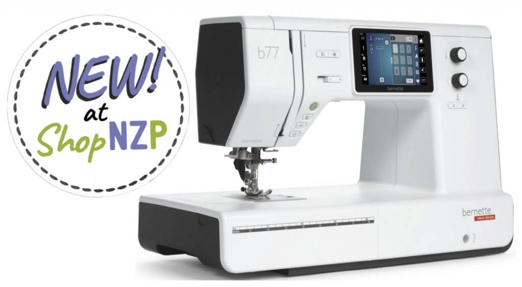 New! bernette b77 Sewing Machine Available at Nancy Zieman Productions at ShopNZP.com