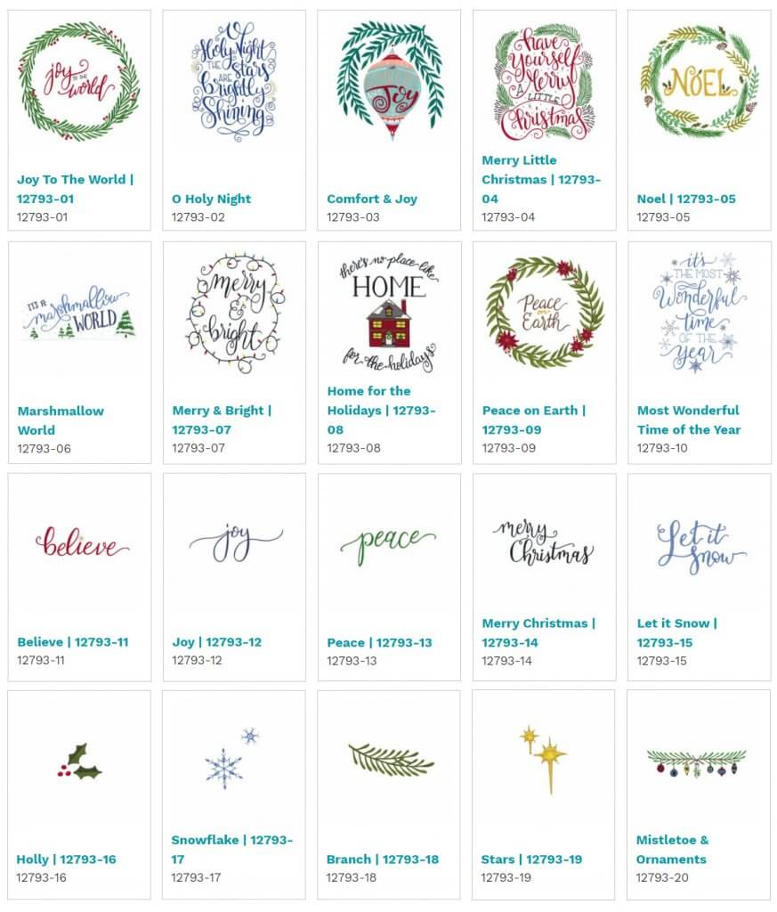 OESD Embroidery Designs at Nancy Zieman Productions at ShopNZP.com