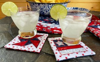 Reversible Palette Coasters Sewing Tutorial at The Nancy Zieman Productions Blog