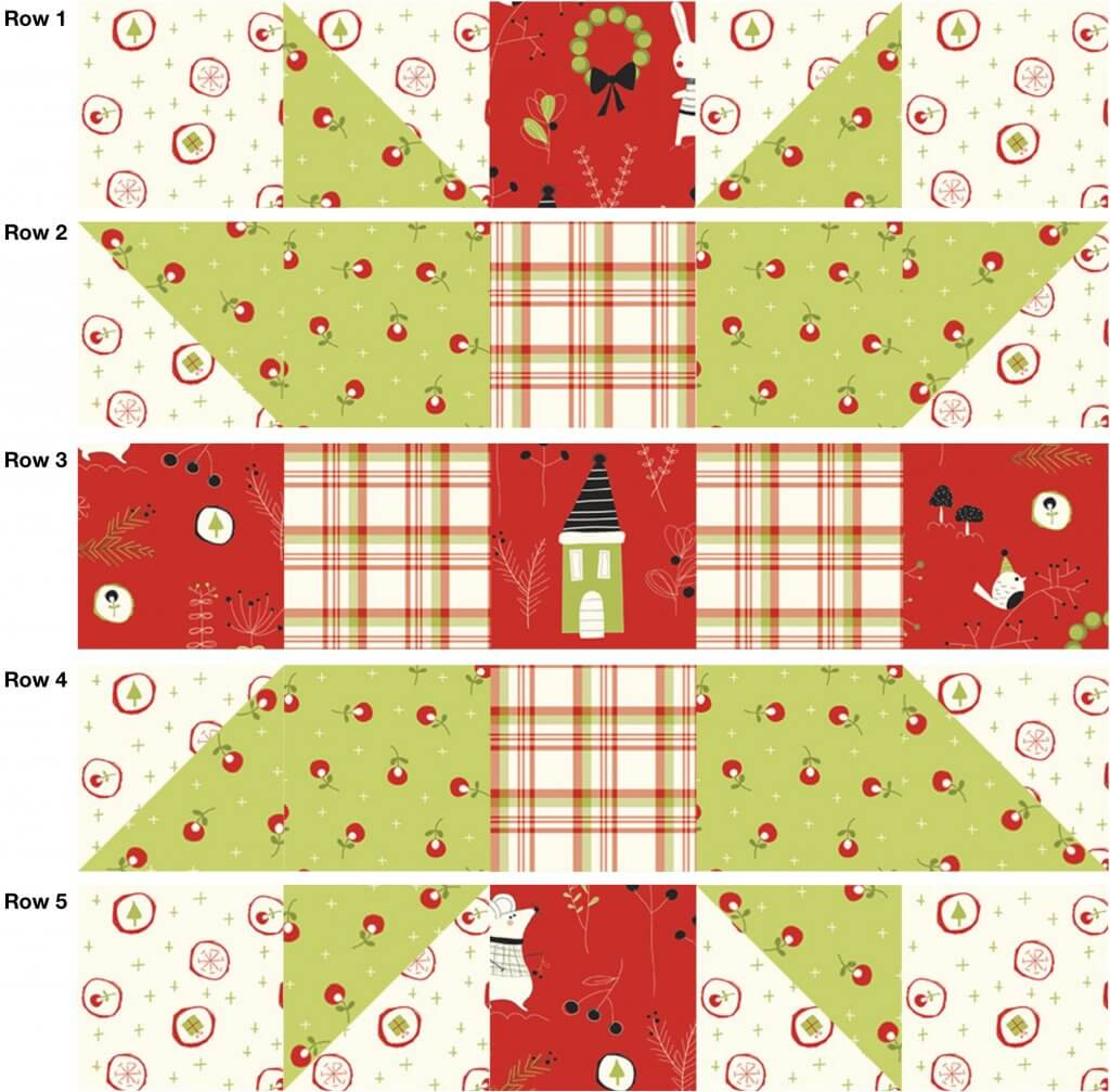 July 2021 NZP Block of the Month: Sister's Choice