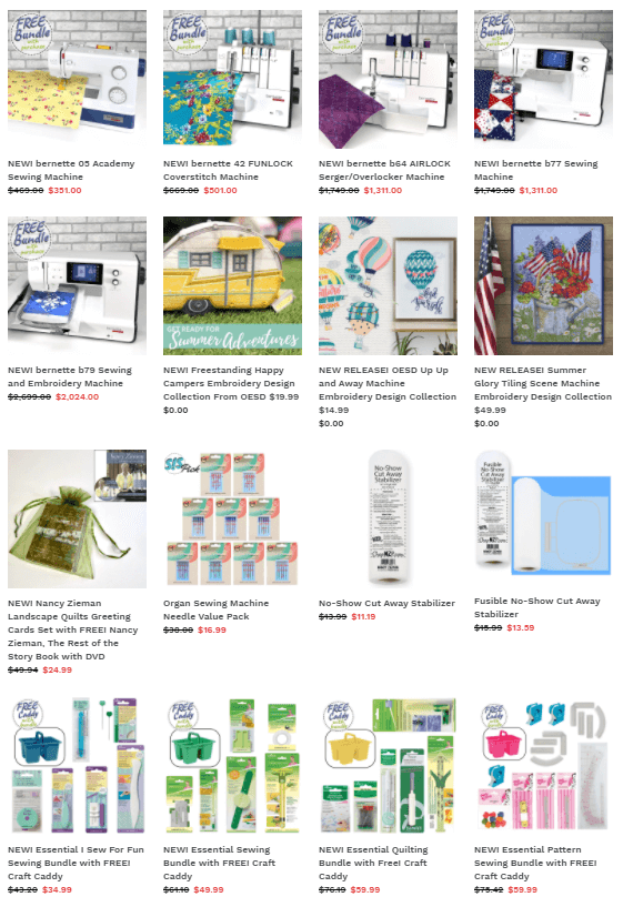 Summer Sale and Clearance Thru July 31, 2021 At shopNZP.com at Nancy Zieman Productions