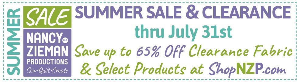 ShopNZP.com Summer Sale & Clearance thru July 31