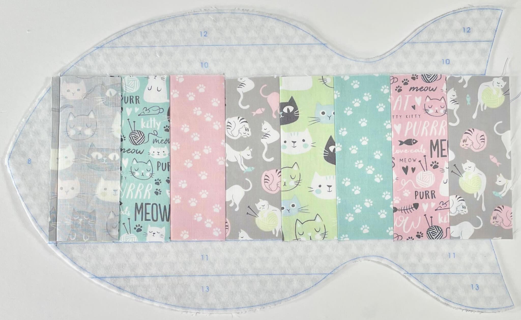 Quilt As You Go Pet Placemat Bundle Box available at Nancy Zieman Productions at ShopNZP.com