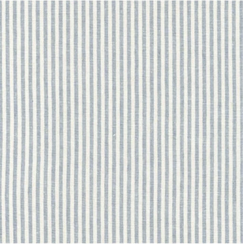 Essex Yarn Dyed Classic Wovens Chambray Stripe Fabric Available at Nancy Zieman Productions at ShopNZP.com