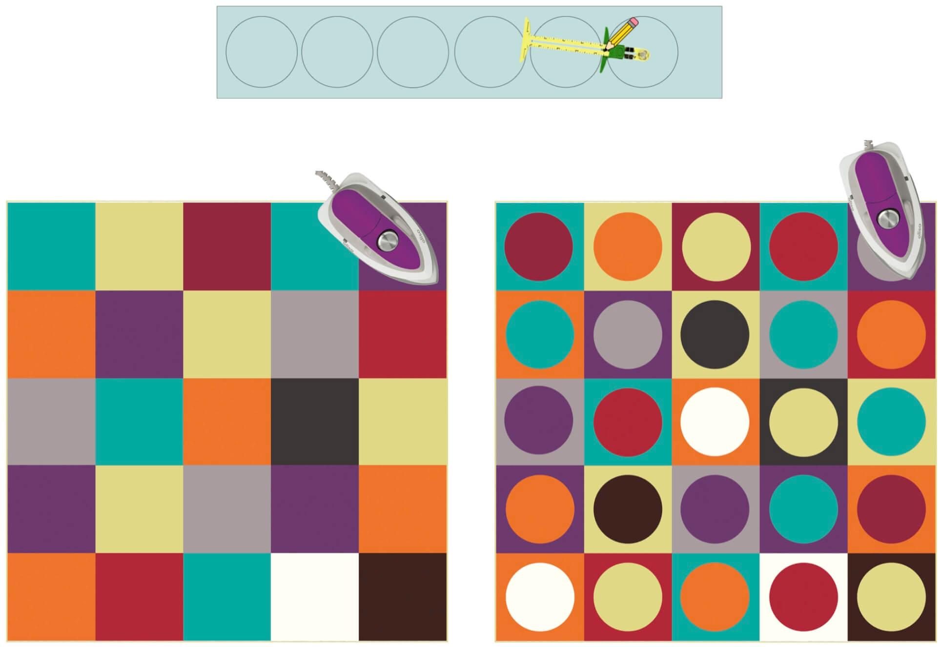 Fusible Fun Art Quilt Bundle Box Available at Nancy Zieman Productions at ShopNZP.com