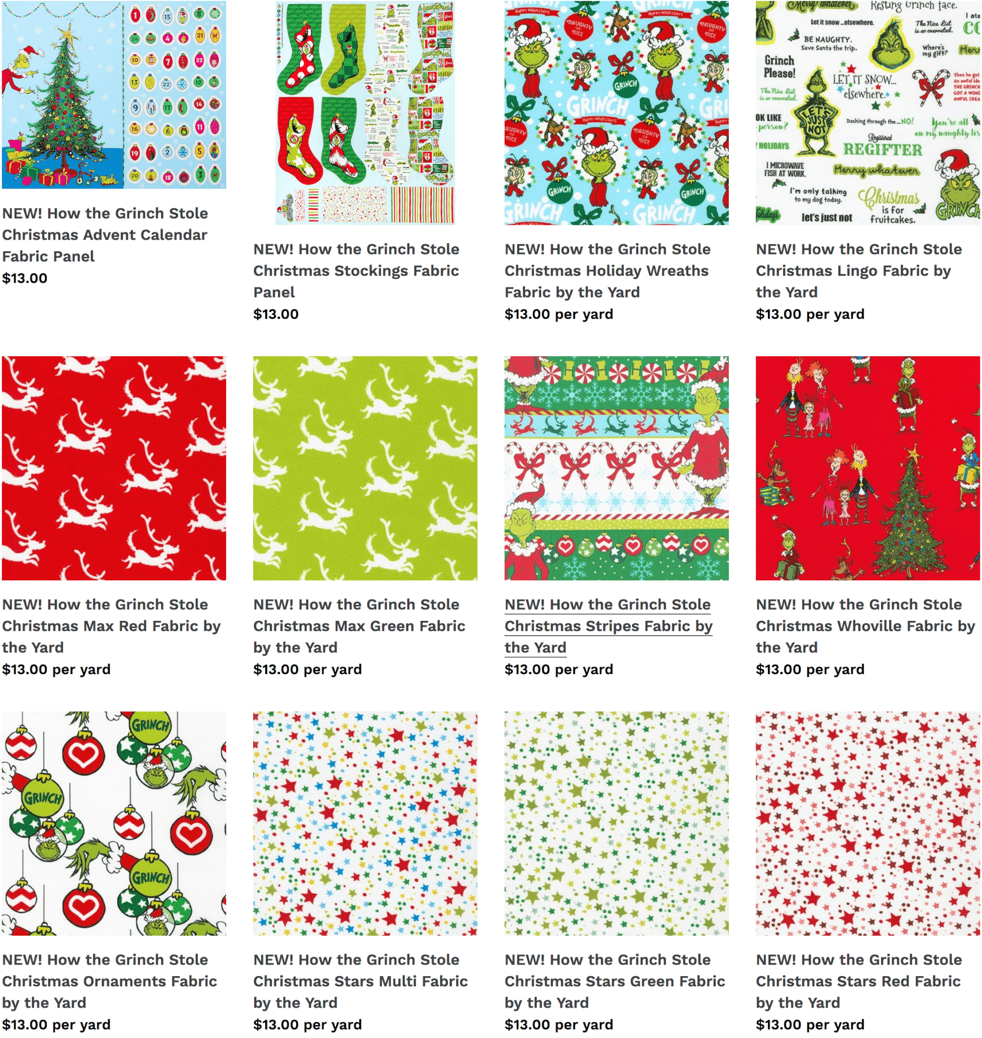 How the Grinch Stole Christmas Available at Nancy Zieman Productions at ShopNZP.com