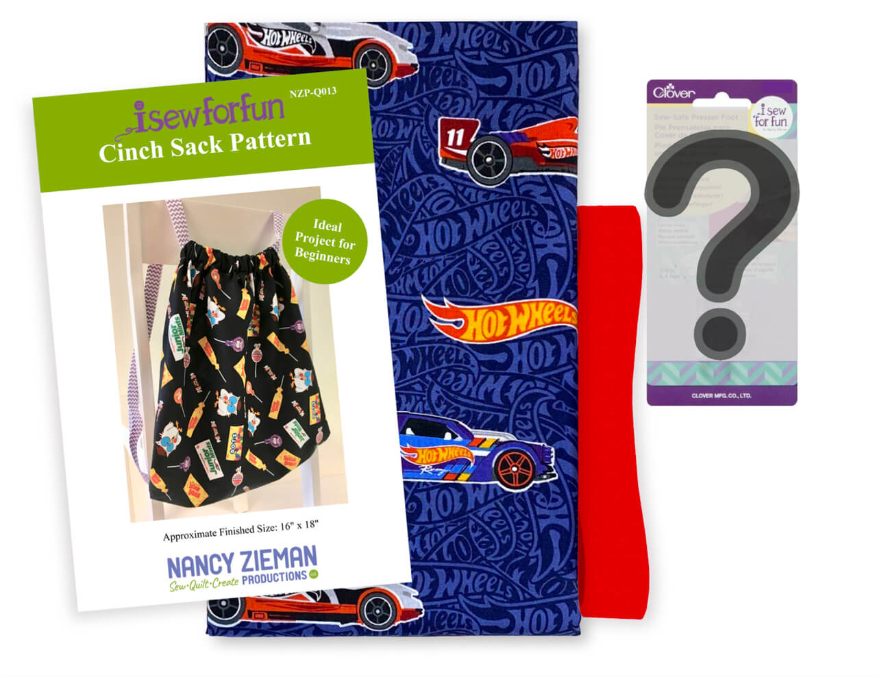 I Sew For Fun Chinch Sack Bundle Box Available at Nancy Zieman Productions at ShopNZP.com