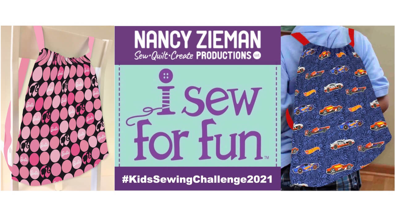 NEW! I Sew For Fun Kids' Sewing Challenge Kick Off and Order Your Challenge Project Pack Today