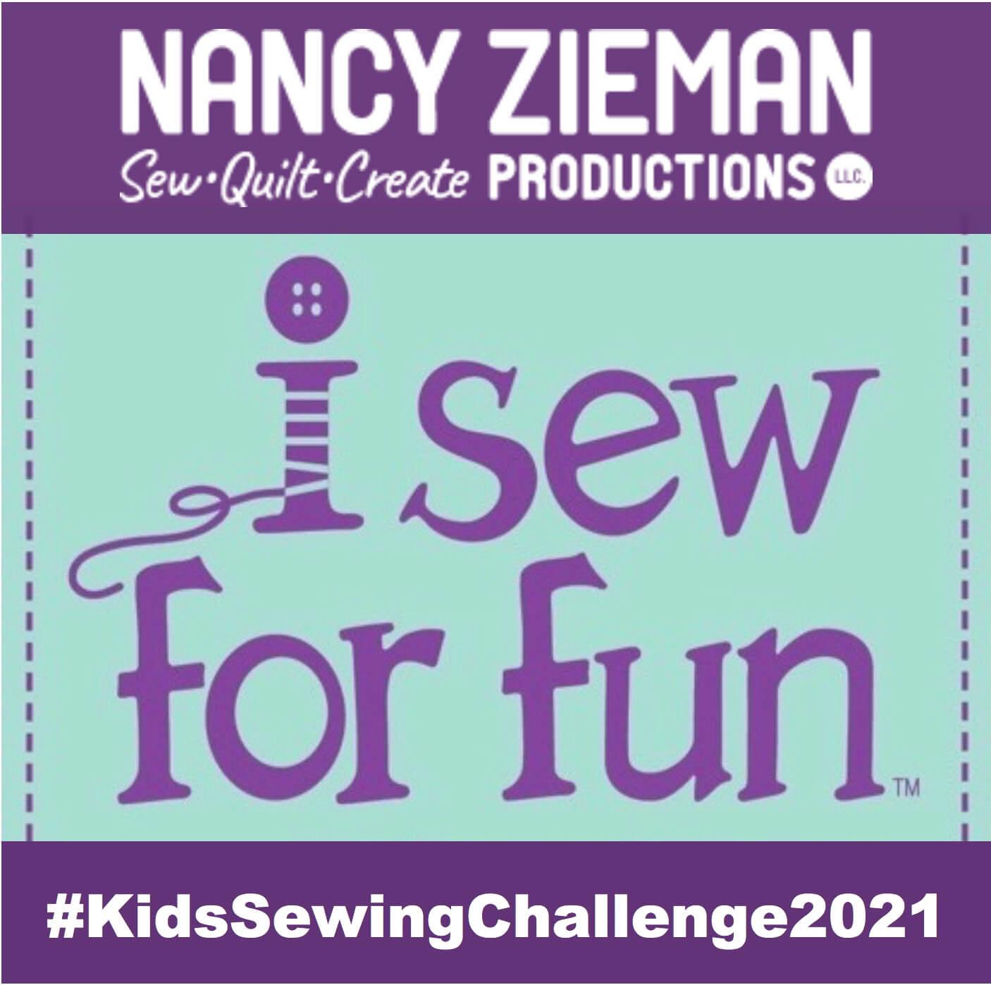 NZP 2021 ISFF KidsSewingChallenge Badge