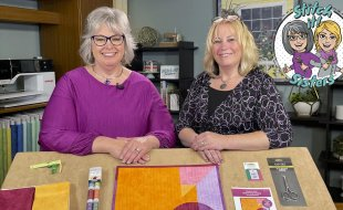 Stitch it! Sisters NEW Ultimate Straight Line Machine Quilting Tutorial by the Stitch it! Sisters at Nancy Zieman Productions