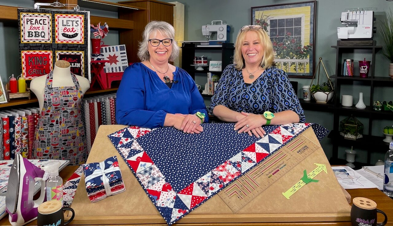 Deanna and Dana for their Piece and Quilt For the Holidays Lecture on Saturday at 1 p.m.