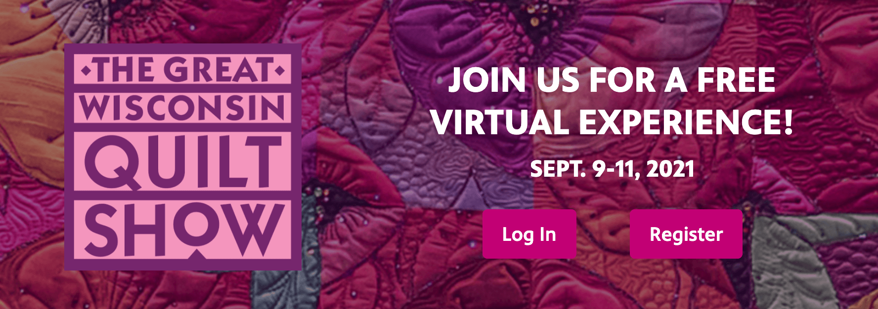 Join Nancy Zieman Productions for the Free Virtual Great Wisconsin Quilt Show at QuiltShow.com