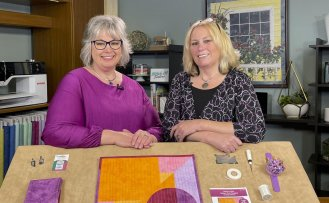Stitch it! Sisters NEW! Absolute Easiest Way to Sew Quilt Binding Tutorial by the Stitch it! Sisters at Nancy Zieman Productions