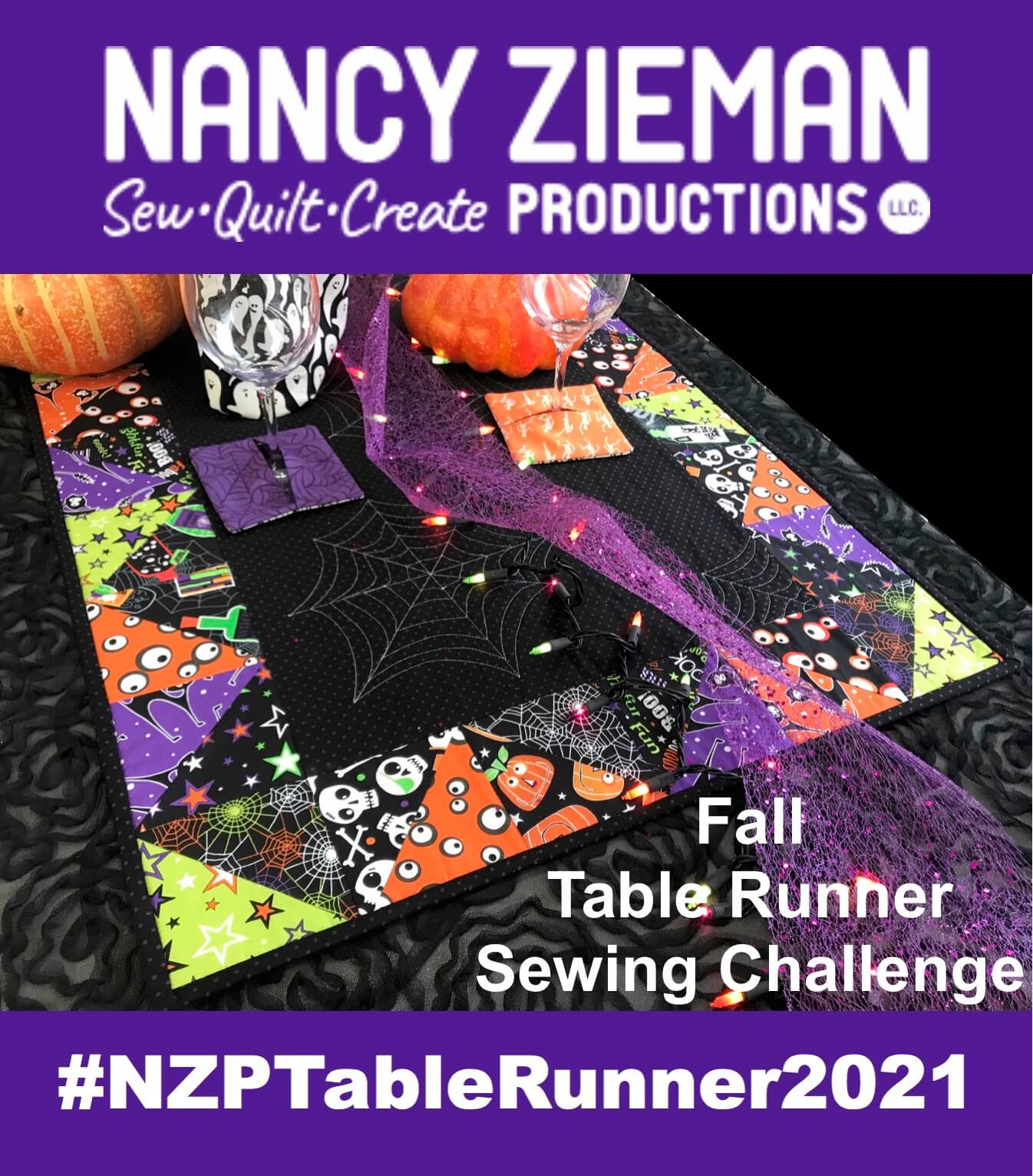 2021 Fall Table Runner Sewing Challenge