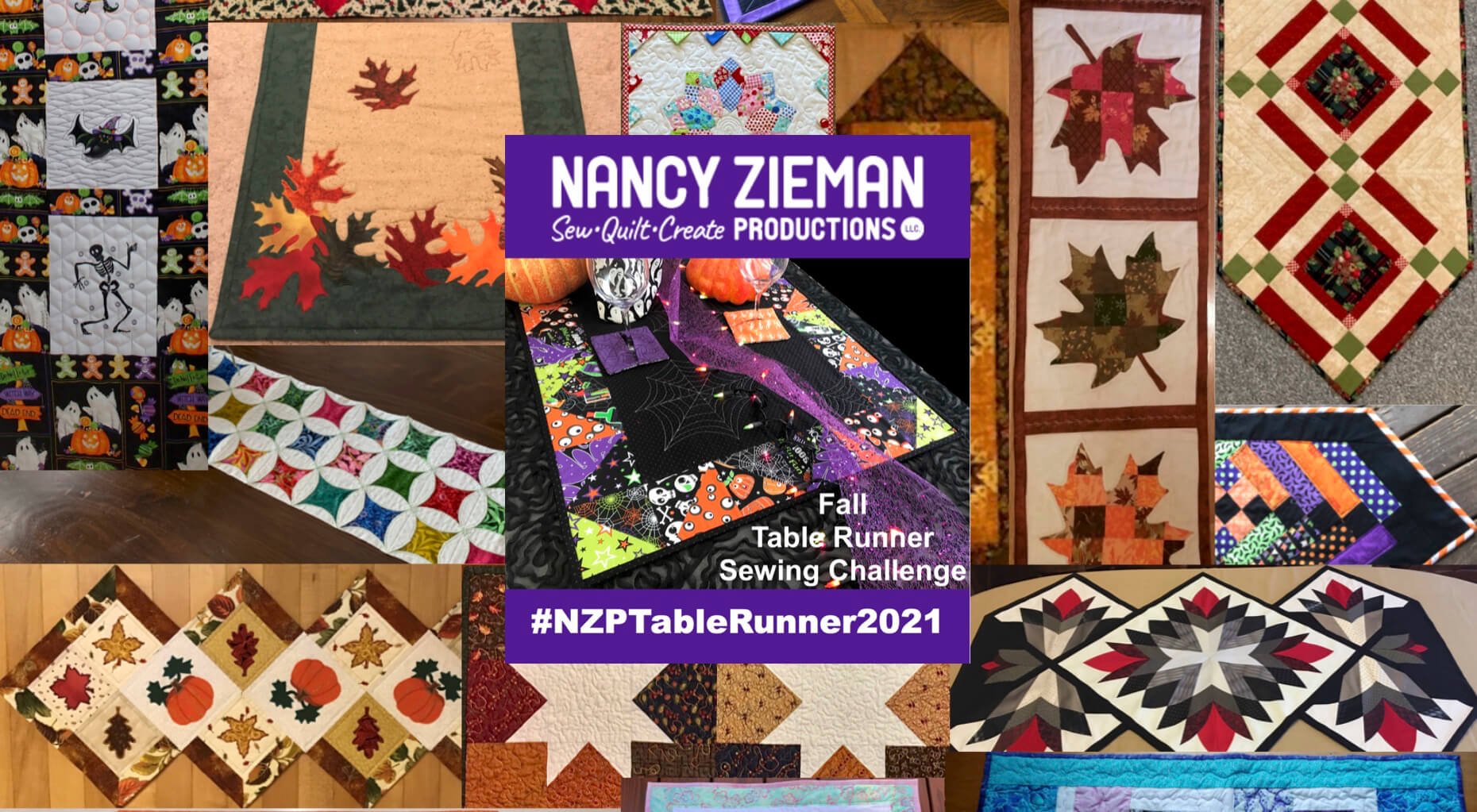 2021 NZP Fall Table Runner Sewing Challenge Winners Announced