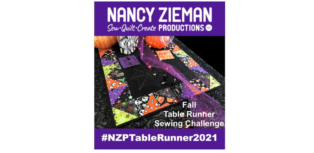 2021 Table Runner Sewing Round Up and Fall Table Runner Sewing Challenge Announced