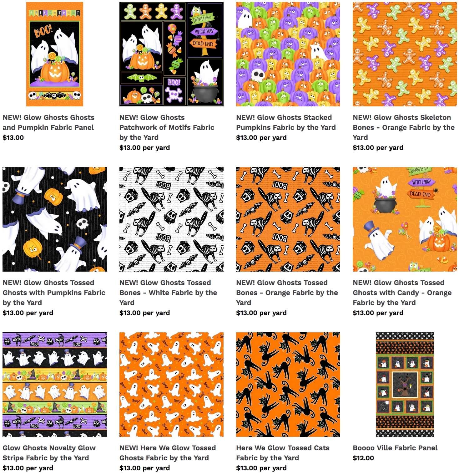 Halloween Fabric Available at Nancy Zieman Productions at ShopNZP.com