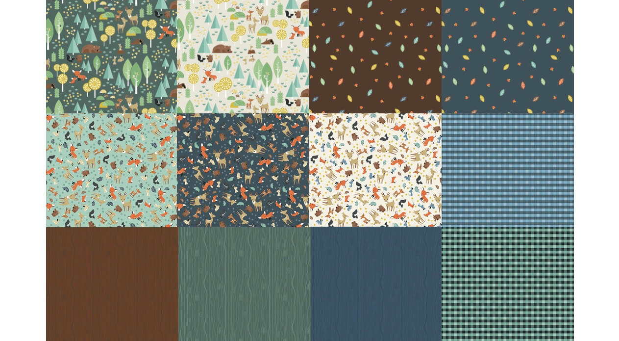 NEW! Woodland Flannel Fabric Collection Available at Nancy Zieman Productions at ShopNZP.com