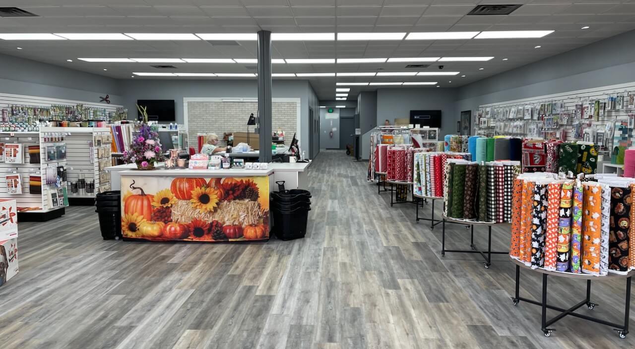 Nancy Zieman Sewing Studio Store NOW OPEN in the Fine Arts District in Downtown Beaver Dam WIIMG_2392